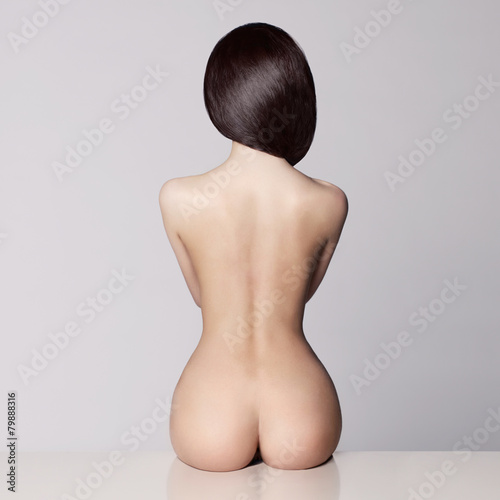 Plexiglas Akt perfect female body