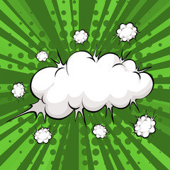 Cloud explosion