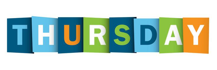 THURSDAY (icon symbol button)