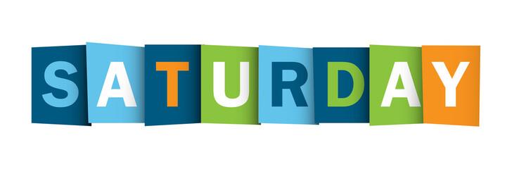 SATURDAY (icon symbol button)