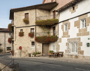 Typical house in the Basque Country