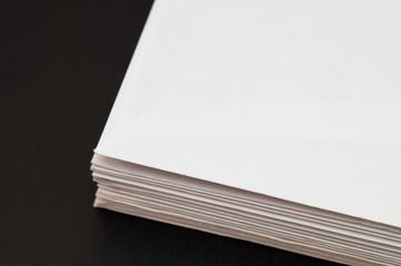 Envelopes bottom part on back background