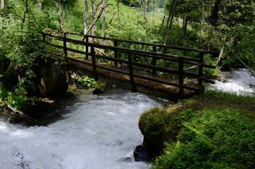 fiume con ponte