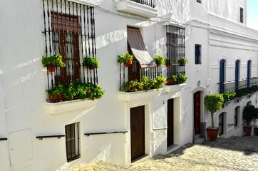 Calle de Medina-Sidonia. Cádiz. España