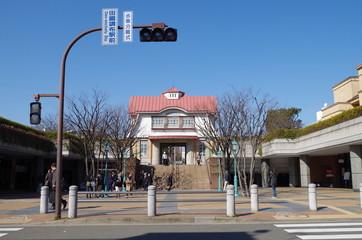 田園調布駅前