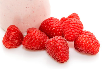 Fruits framboises