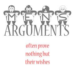 Mens Arguments