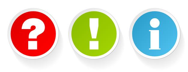 Sticker Question, Answer & Information