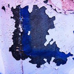 surface of a wall