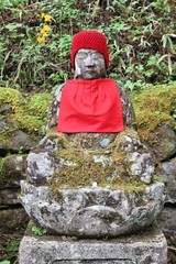 Japan sculpture - jizo monument