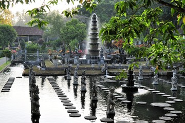 Water Palace of Tirta Gangga, Bali, Indonesia