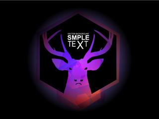 Mystic purple deer