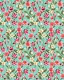 Fototapety Floral seamless pattern