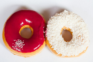 donuts - frische bunte Donuts