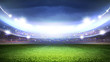 Leinwandbild Motiv Soccer stadium