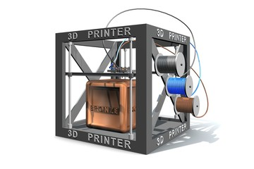 Brons printen met 3d printer