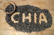 Chia seeds, a healthy source of antioxidants, omega 3 and fiber