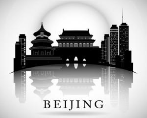 Modern Beijing City Skyline Design