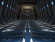 Futuristic interior - 79901773