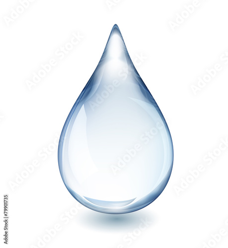 Water Drop - 79901735