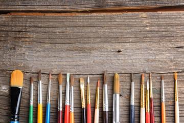 Aristic paint brushes