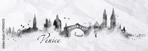 Silhouette ink Venice - 79904370
