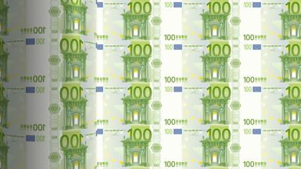 euro bills printing