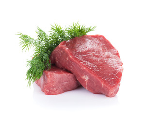 Fillet steak beef