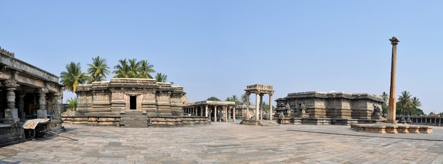 Chennakeshava Hindu Temple in Belur, India