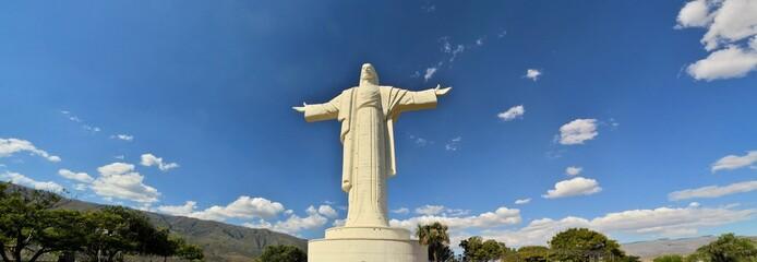Largest Jesus Statue worldwide, Cochabamba Bolivia © flocu