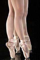 Ballett - Beine einer Ballerina