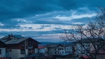 Twilight at Bansco, Bulgaria