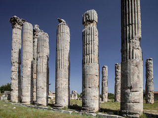 Temple of Zeus, in Uzuncaburc Olba , Mersin - Turkey