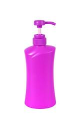 Red Plastic Bottle pump Of Gel, Liquid Soap, Lotion, Cream, Sham