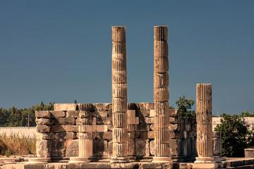 Zeus temple in Uzuncaburc, Turkey