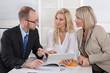 Präsentation von Zahlen, Daten, Fakten; Business Meeting