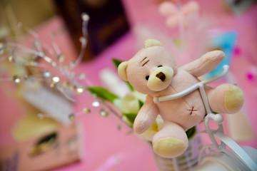 Adorable little teddy bear