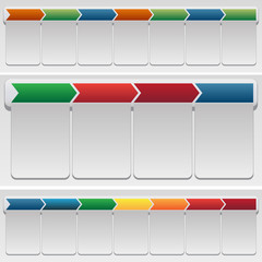 Chevron Chart Set