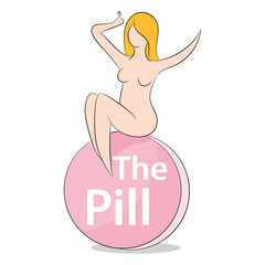Woman On The Pill