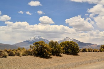 Volcano in Sajama National Park, Andes, Bolivia