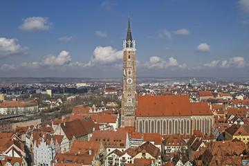 Landshut mit Martinsdom