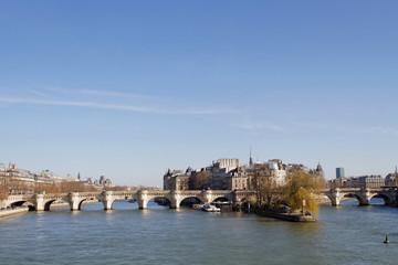 La Seine et le Pont Neuf