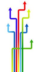 frecce colori