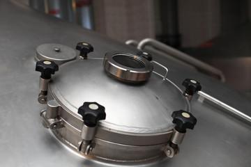Manhole of fermentation vat