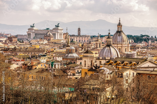 Poster Skyline of Rome