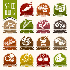 Spice icon set