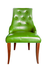 luxury chair isolated with clipping path