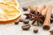 Cinnamon, anise, orange and nuts
