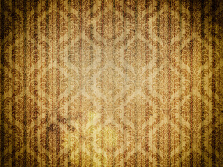 Dirty old-fashioned wallpaper.