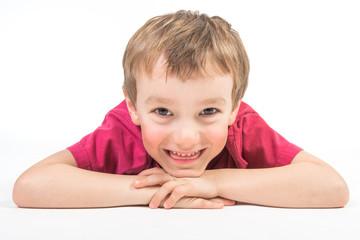 portrait d'enfant souriant